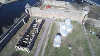 видео Ивангородская крепость в Ивангороде