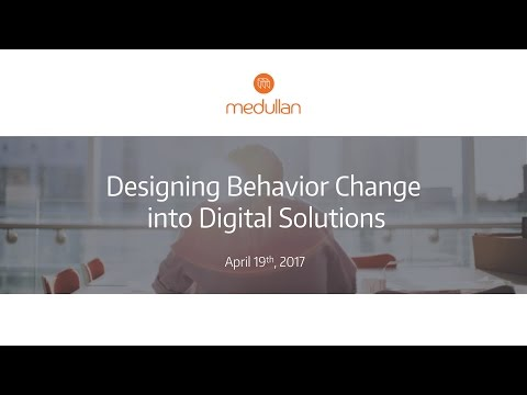 Designing Behavior Change into Digital Solutions