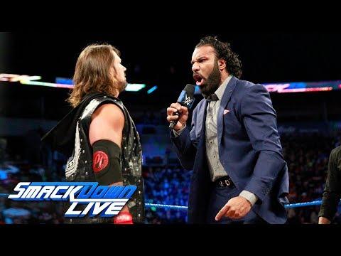 Jinder Mahal challenges Brock Lesnar for WWE Survivor Series: SmackDown LIVE, Oct. 17, 2017