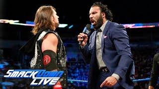 AJ Styles interrupts Jinder Mahal