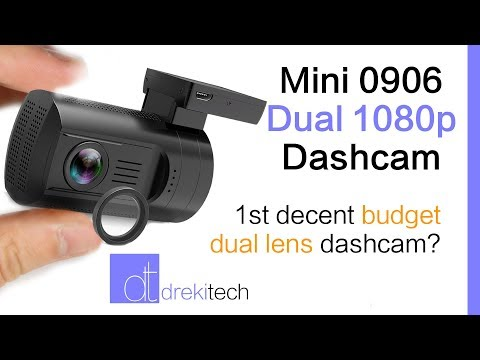 Mini 0906 Dashcam - First Budget Dual Dash Cam With Decent Video Quality?