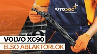 VOLVO XC90 I Gumiharang Készlet Kormányzás cseréje - videó útmutatók