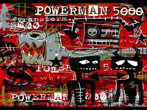 Powerman 5000 - Transform (2003) [Full Album]