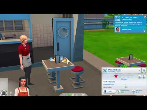 Sims 4 Dine Out pt.1 |