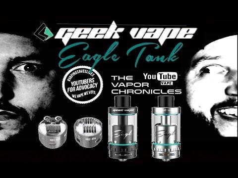Geek Vape Eagle Tank On TVC