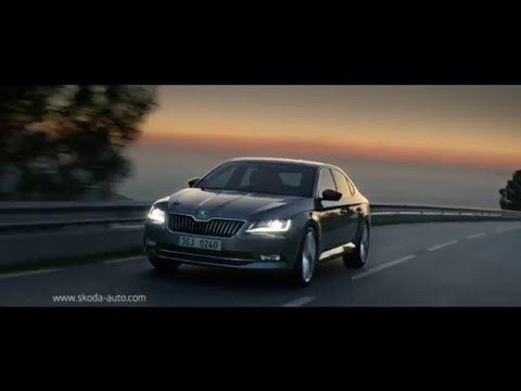 """ŠKODA SUPERB. """"Travel in Style. Travel in Space. """" - Intelligent Life TV"""