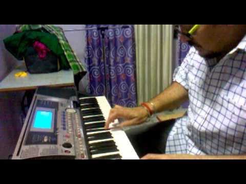 Instrumental Version of DIL KE JHAROKHE ME ON KEYBOARD BY MKS