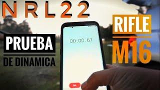 NRL22 en chile | Rifle M16