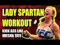 Lady Spartan Home Cardio Workout with No Equipment   Day 05/20 Spartan Women Workout Series