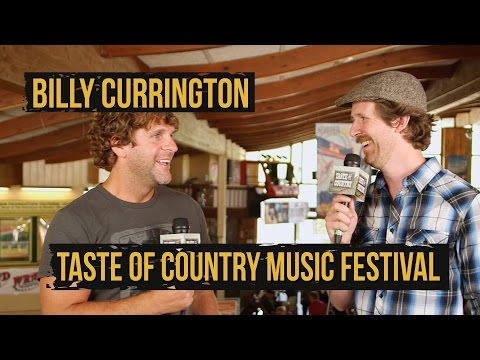 Billy Currington On Why He's the