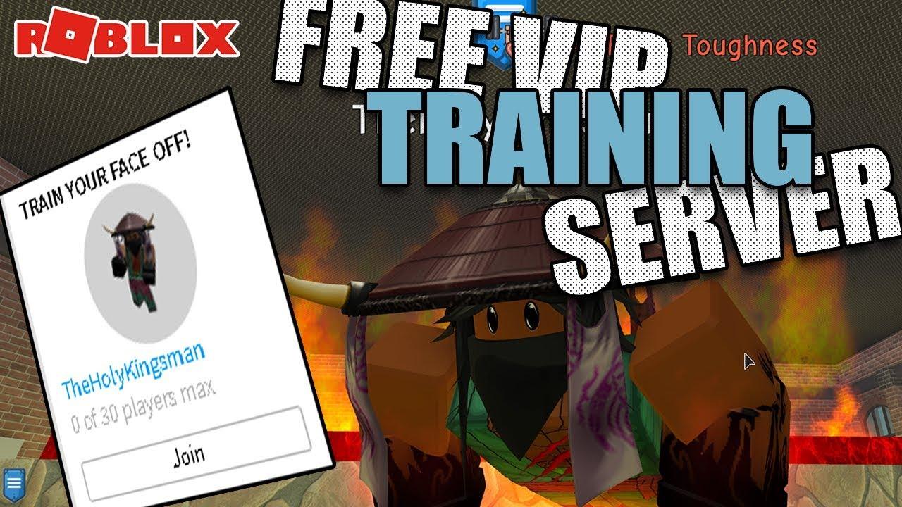 FREE VIP TRAINING SERVER | Super Power Training Simulator! - YouTube