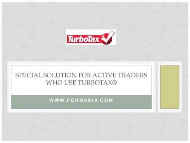 Active Traders - Solution for Turbo Tax Import Limitations