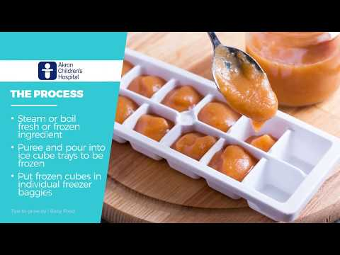 """How to make homemade baby food"" – Tips to Grow By (WKYC)"