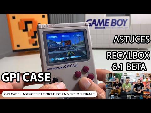 GPi Case - Astuces Recalbox 6.1 beta