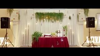 Оформление зала на свадьбу Ивана и Марии
