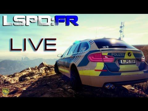 GTA 5 LSPD:FR Livestream (03.11.16) - Wir haben ein neues Fahrzeug! - Deutsch - DanielGaming