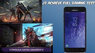 Samsung Galaxy J3 Achieve Full Gaming Review (HD)