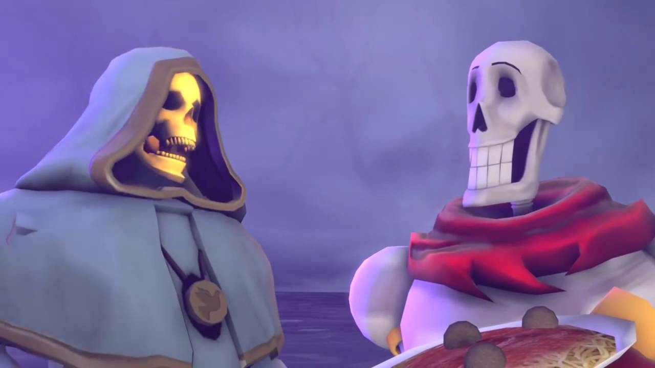 [VF] Skeletor meets Papyrus. - YouTube