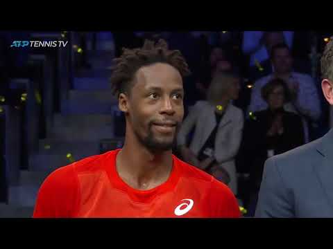 Monfils beats Wawrinka: Match Point & Funny Speech | Rotterdam 2019 Final