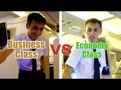 Business Class VS Economy Class