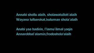 Download ANNABI SOLLU 'ALAIH     Ceng Zam zam    LYRIC VIDEO