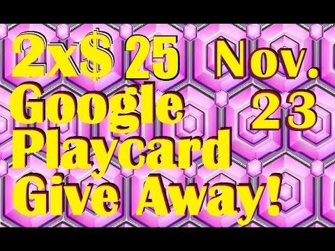 Castle Clash - 2xGoogle PlayCard Give Away Nov23