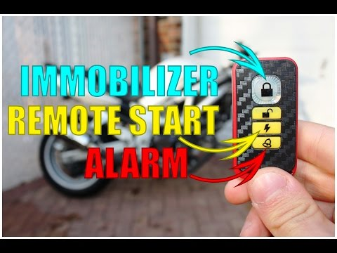 [SCHEMATICS_4JK]  How to Install a Motorcycle Alarm + Remote Starter + Immobilizer | Complete  Guide - YouTube | Scooter Alarm Wiring Diagram |  | YouTube