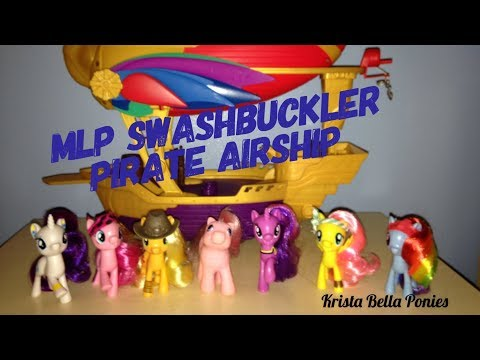 MLP The Movie Swashbuckler Pirate Airship