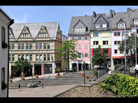 Cities of Germany ,Siegen, buildings, park ,leisur­e, tourism, history,women