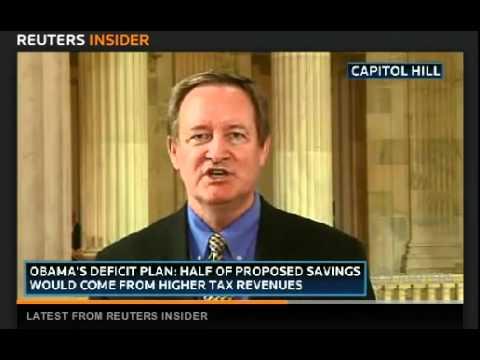 Senator Mike Crapo discusses deficit reduction on Reuters