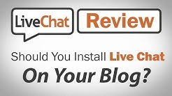 LiveChat Inc Review - Should You Install Live Chat On Your Blog?