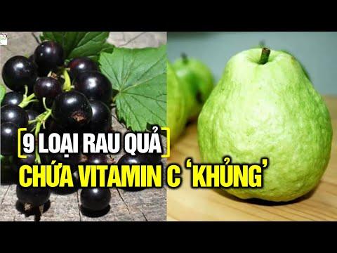 Photo of [9 loại rau quả hàng đầu] Giàu Vitamin C bạn nên ăn hàng ngày  tốt nhất