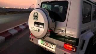 Brabus B63S-700 Widestar Dubai Police Car 2014 Videos