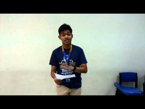 "Thesis in English Oral Defense ""Statement of the Problem-Mark Joseph M.Aspillaga"
