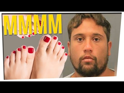 Man Convicted of Breaking into Home, Sucking on Woman's Toes
