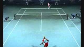 Smash Court Tennis Pro Tournament 2 ps2 Gameplay