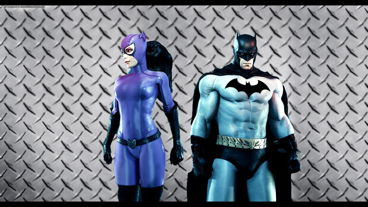 Iconic Grey and Black Batman and 1990u0027s Cat woman Gameplay & Iconic Grey and Black Batman and 1990u0027s Cat woman Gameplay - YouTube