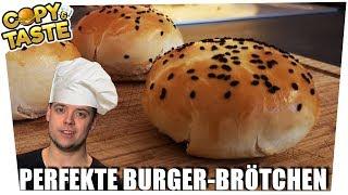 ENDLICH! Olli's perfekte Burger-Brötchen 🍔😍 Copy & Taste #CaT