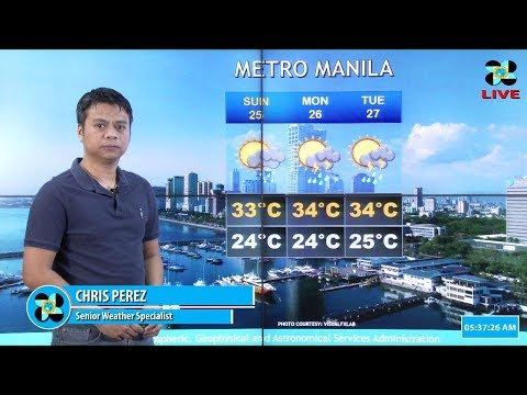 Public Weather Forecast Issued at 4:00 AM March 24, 2018