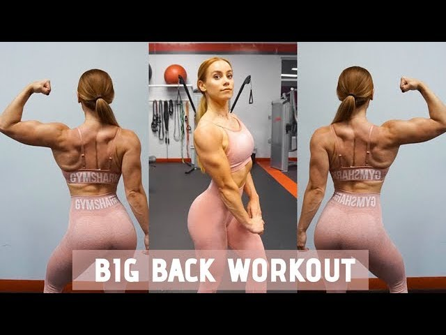 GROW YOUR BACK!!! BACK WORKOUT WITH VOICEOVER | LAUREN FINDLEY