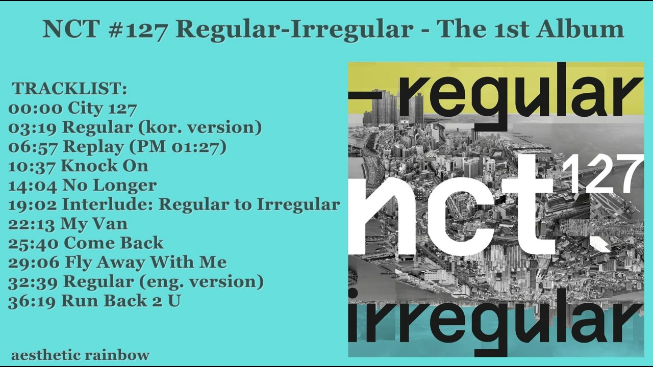 NCT 127 - Regular - Irregular / The 1st Album