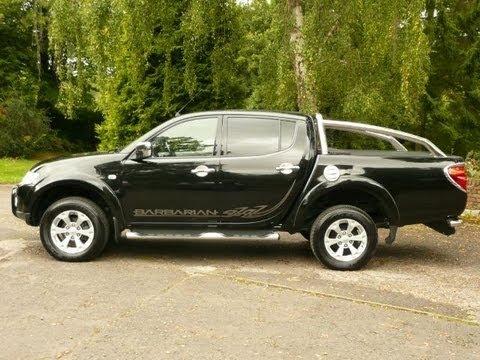 Mitsubishi L200 Barbarian Automatic in Black 2012 NO VAT!!