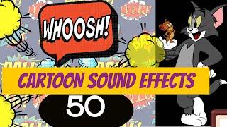 50 Cartoon Sound Effects 2020   Cartoon Sound Effects No Copyright   50 Cartoon Sound Effects