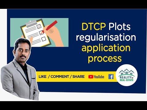 DTCP Plots Regularisation Application process | Mothish Kumar Property Coach