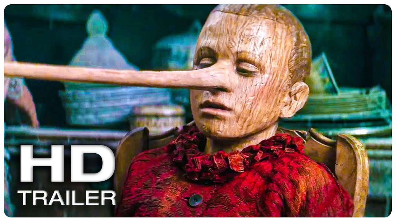 PINOCCHIO Official Trailer #1 (NEW 2020) Live Action, Fantasy Movie HD