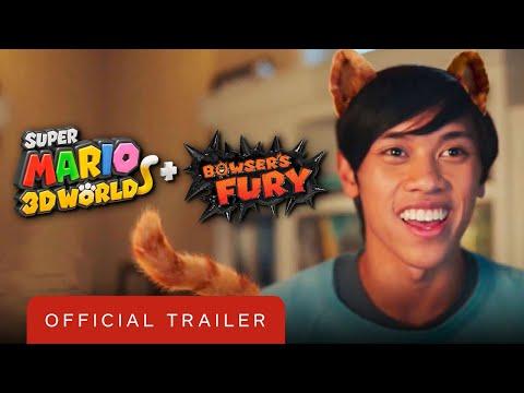 Super Mario 3D World + Bowser's Fury - Official Cat Prints Trailer