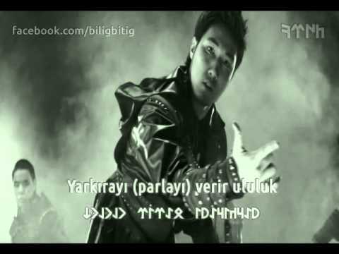 Gök börü turan kazak müziği türk