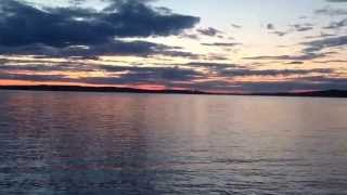 Белые ночи в Петрозаводске , время записи 19 июня 00.10 мин(, 2013-06-18T20:37:27.000Z)
