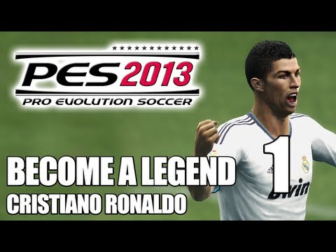 PES 2013: Become a Legend with Cristiano Ronaldo (Part 1) - Introduction (HD)