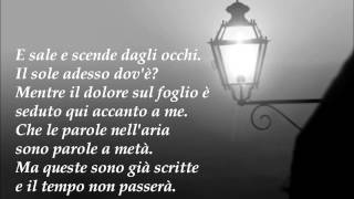 Arisa - La Notte (Lyrics)